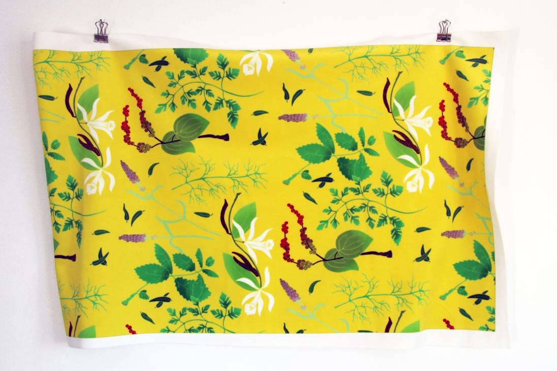 Herbs Fabric (4)