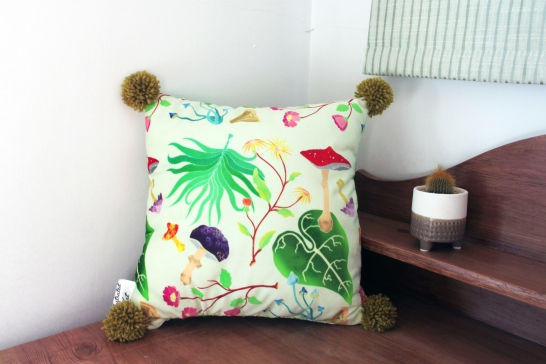 Large Forest Floor cushion