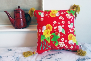 Perfect Hawaiian cushion