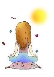 Woman Facing Sun